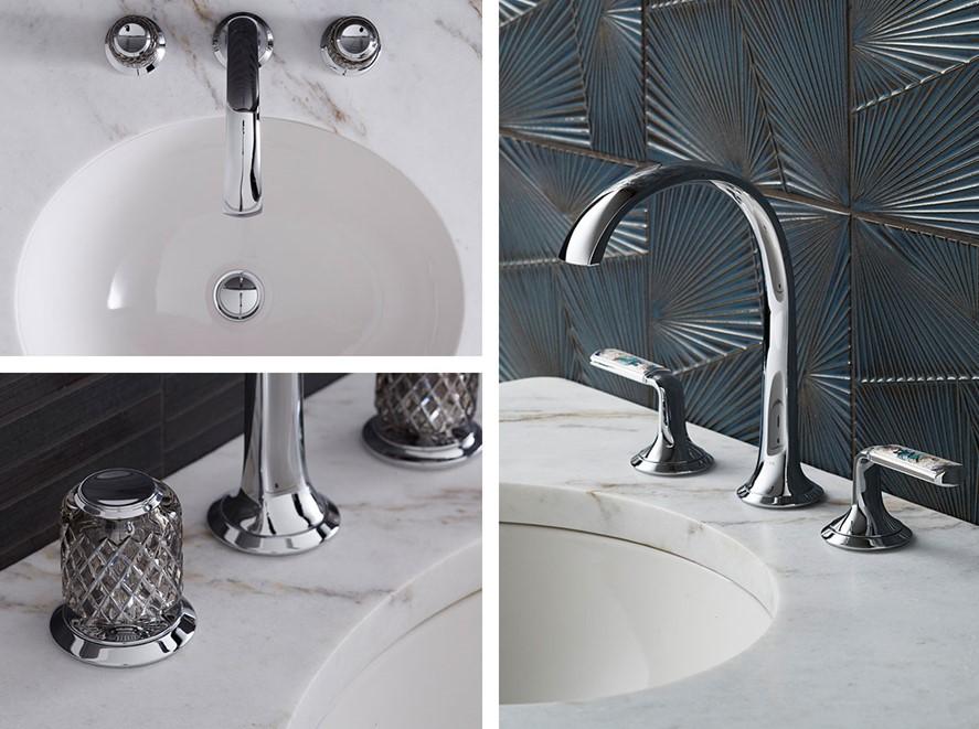 Just Right Farm Plympton MA  kallista script decorative faucet