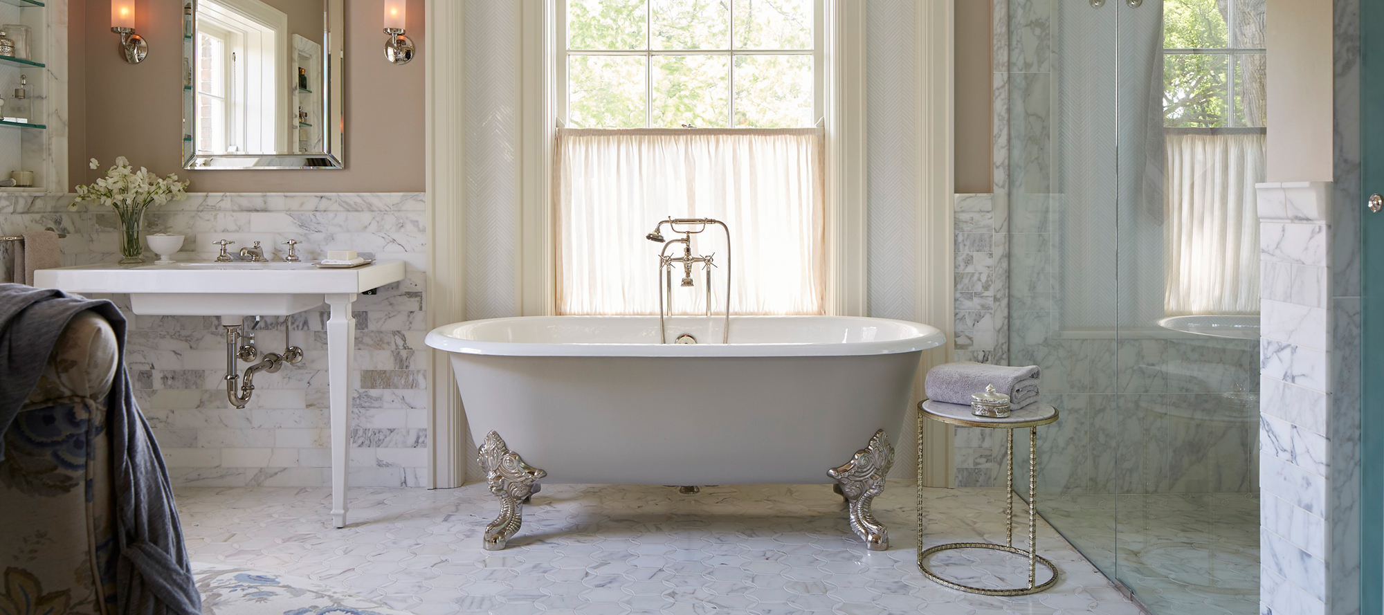 Circe Claw Foot Freestanding Bathtub with Primed Exterior | P50202 ...